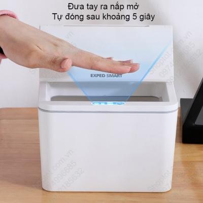 thung rac mini thong minh