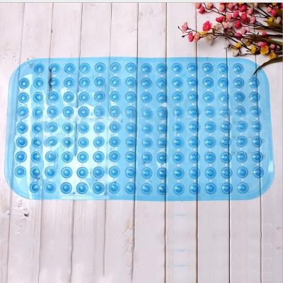 Tấm thảm lót sàn nhà vệ sinh, bếp chống trơn 70x38cm bằng nhựa PVC mềm
