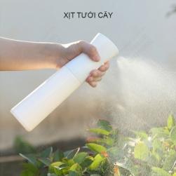 Bình phun xịt nước Nano siêu mịn liên tục bằng tay 300ml, xịt nước tưới cây, xịt tóc, xịt dưỡng ẩm mặt, xịt khử trùng, xịt gia vị cho món nướng