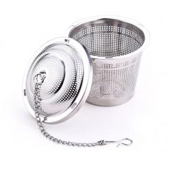 Bộ lọc pha trà đa năng loại nhỏ 4x4,5cm (Bằng Inox 304)