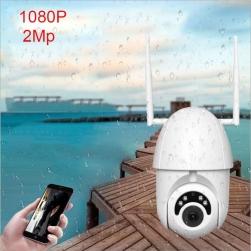 Camera IP Wifi hồng ngoại ngoài trời 1080P kèm thẻ nhớ 32G - WF8309