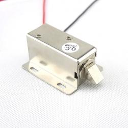 Khóa chốt cửa điện từ loại thường đóng 12VDC