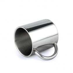 Cốc (ly) bằng inox 304 loại 2 lớp chống nóng 75mm