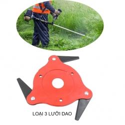 Dao cắt cỏ thông minh loại 3 lưỡi dao cắt