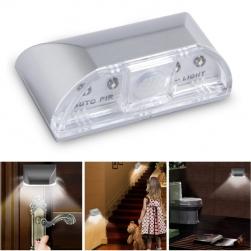 Đèn LED cảm biến hồng ngoại gắn vị trí khóa cửa LS0403, dùng 1 pin tiểu AA (không bao gồm pin)