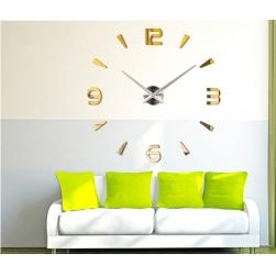 Đồng hồ dán tường tự làm DIY-01