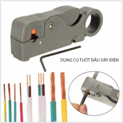 Dụng cụ tuốt vỏ cáp đồng trục, cáp điện nhiều kích cỡ