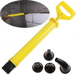 Dụng cụ bơm xịt vữa xi măng đa năng bằng tay với 5 đầu
