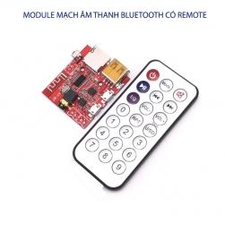 Module mạch giải mã âm thanh bluetooth XY-BT Phát nhạc từ USB, thẻ nhớ kèm điều khiển từ xa (remote)–5VDC