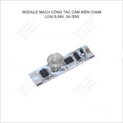 Module mạch công tắc cảm ứng chạm tay 9-24V, 3A-30W