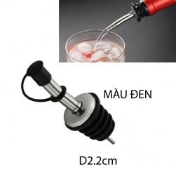 Nắp đậy và rót thông minh cho chai lọ đựng nước mắm, dấm, dầu ăn loại miệng chai 2.2cm (bằng inox 430)