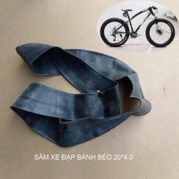 Săm (ruột) xe đạp cho bánh béo (bánh bự) 20x4.0