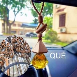 Tinh dầu nguyên chất 100% treo xe ô tô, treo tủ quần áo, tinh dầu Quế
