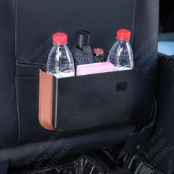 Túi để đồ ghế sau xe ô tô chống nước, có thể xếp gọn, để chai nước, để đồ cá nhân