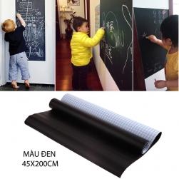 Bảng dán tường bằng nhựa PVC loại 45x200cm (có màu đen, xanh và trắng)