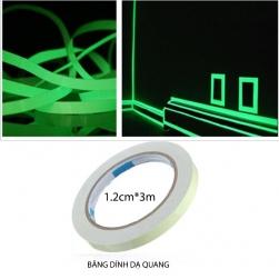Bang keo dạ quang 1.2cm3m (phát sáng vào ban đêm)