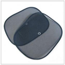 Bộ 2 tấm che nắng cửa kính xe ô tô dạng lưới (màu đen)