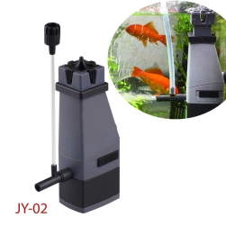 Máy bơm 3W lọc váng dầu mỡ và các chất bẩn bề mặt nước kiêm tạo khí cho bể cá JY-02