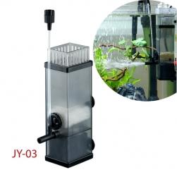 Máy bơm 5W lọc váng dầu mỡ và các chất bẩn bề mặt nước kiêm tạo khí cho bể cá JY-03