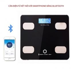 Cân điện tử sức khỏe thông minh Y160 kết nối với smartphone bằng bluetooth