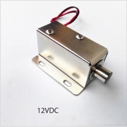 Khóa chốt cửa điện từ loại thường đóng 12VDC-HD5442T (Đầu chốt hình trụ tròn D10mm)