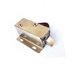 Khóa chốt cửa điện từ loại thường đóng 24VDC (Đầu chốt hình trụ vuông có vát)