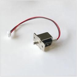 Khóa chốt điện từ mini loại thường đóng 12VDC-HD04 (chốt hình trụ tròn 3mm)
