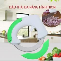 Dao thái rau, củ, quả, thịt đa năng hình tròn XL050