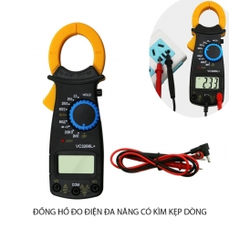 Đồng hồ đo điện đa năng có kìm kẹp dòng VC3266L+