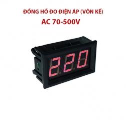 Đồng hồ vôn kế kỹ thuật số AC 70-500V