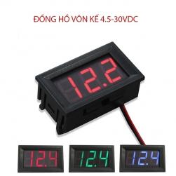 Đồng hồ vôn kế kỹ thuật số DC4.5-30V