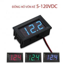 Đồng hồ vôn kế kỹ thuật số DC5-120V