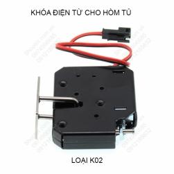 Khóa điện từ thông minh cho hòm, tủ, hộp, các máy bán hàng tự động K02