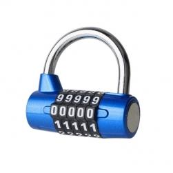 Khóa số chống trộm ST501, loại 5 số có thể thay đổi được mã số, loại 7mm