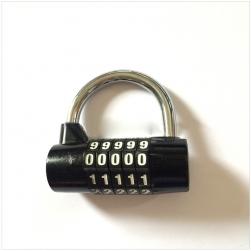 Khóa số chống trộm HD408, loại 5 số có thể thay đổi được mã số, loại 7mm