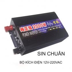Bộ đổi nguồi điện (Inverter-kích điện) 2000W, 12V lên 220VAC