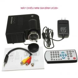 Máy chiếu mini gia đình UC28 plus 24W (màu đen)