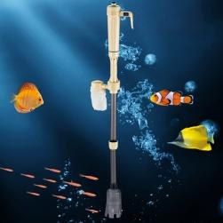 Máy hút vệ sinh kiêm lọc bẩn bể cá chạy Pin kèm bộ nguồn