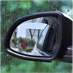 Bộ 2 miếng dán chống bám nước cho gương chiếu hậu ô tô (hình Oval)