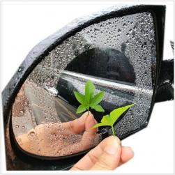 Bộ 2 miếng dán chống bám nước cho gương chiếu hậu ô tô (hình tròn)