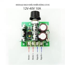 Module mạch điều chỉnh tốc độ động cơ điện 1 chiều CCMHC DC 12V-40V/10A