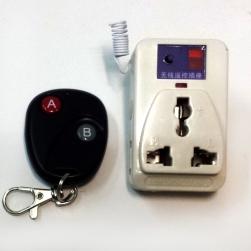 Ổ cắm điều khiển từ xa học lệnh 500W kèm điều khiển (remote) bằng sóng Radio RF