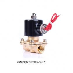 Van nước điện từ 220V, 2W-160-15, ren trong D15
