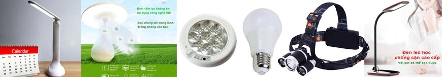 Đèn học - Đèn Pin - Đèn chiếu sáng