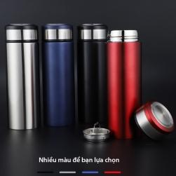 Bình giữ nhiệt 2 lớp 400ml bằng Inox 304 kèm bộ lọc pha trà inox 304