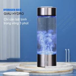 Bình tạo nước Hudrogen cầm tay loại 420ml, dùng pin sạc