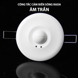 Công tắc cảm biến chuyển động vi sóng rada M003 loại âm trần 220V