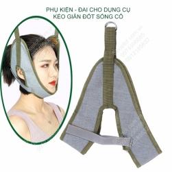 Đai cho dụng cụ kéo giãn đốt sống cổ, vật liệu vải dù DAIKC01