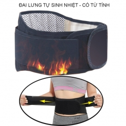 Đai lưng tự sinh nhiệt hỗ trợ điều đau trị cột sống và mỏi cơ thắt lưng YX002