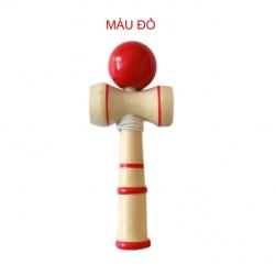 Đồ chơi tung hứng Kendama bằng gỗ tự nhiên, loại nhỏ DCG.KD3 (đường kính bóng D3cm)